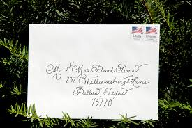 wedding invitations envelopes wedding calligraphy envelopes custom handwritten place