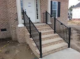 aluminum hand railing steps u2014 railing stairs and kitchen design
