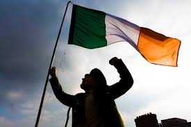 Images Of The Irish Flag Irish Volunteers Turn Out For St Patrick U0027s Day Parade In 1916