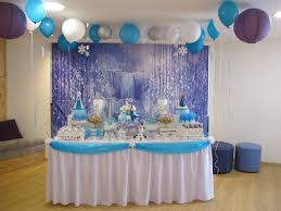 home decor party interior design fresh frozen birthday party theme decorations