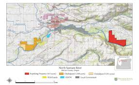 Oregon River Map by North Santiam River Western Rivers Conservancy