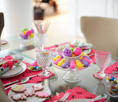 fresh easter bunny table decorations 10116