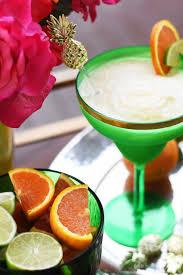 margarita pineapple orange frozen margarita everyday party magazine