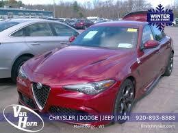 cars for sale used 2017 alfa romeo giulia quadrifoglio for sale