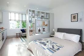 Studio Apartment Room Dividers by With Divider Cool Studio Apartment Design Ideas Gallery