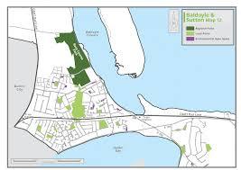 Dart Rail Map Appendix A Maps Fingal County Council Online Consultation Portal