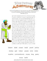 joshua explored the promised land word search joshua and caleb