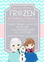 frozen birthday invitation printable frozen invitation girls