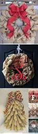 best 25 burlap christmas crafts ideas on pinterest burlap