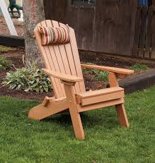 plastic adirondack chairs with ottoman folding reclining poly fanback adirondack chair w pull out