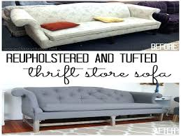 diy reupholster couch reupholster couch sectional cushions cost