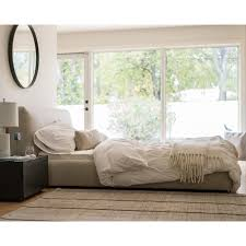 contemporary galleries cello upholstered storage bed queen