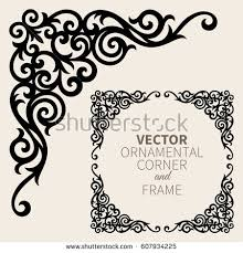 corner borders stock images royalty free images vectors