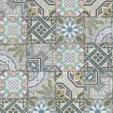 moroccan tile moroccan tile wallpaper baroque pattern realistic faux effect grey