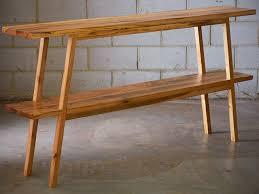 Timber Bookshelf Hall Table Bookshelf By Saltwood Designs Handkrafted