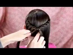 hair style on dailymotion spiral braid ponytail twist hairstyle youtube