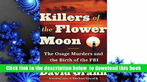 free download killers of the flower moon the osage murders and