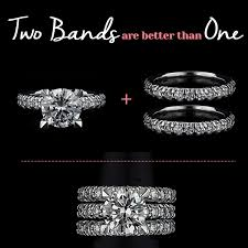 wedding ring with two bands two wedding bands are better than one miadonna the future of