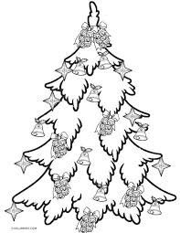printable christmas pages for coloring printable christmas tree coloring pages for kids cool2bkids
