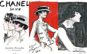 ms fabulous karl lagerfeld sketches chanel for bio fashion