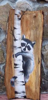 painted wood artwork free images of raccoons to paint on wood artwork by