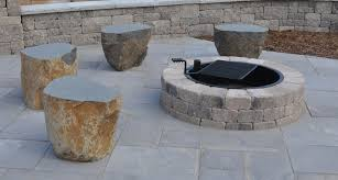 Unilock Patio Designs by Fire Pits Fire Ring Outdoor Fires Greenscapes Madison Wi