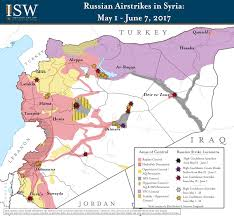 Syria Map Of Control by Isw Blog Russia U0027s Maneuvers In Syria May 1 June 7 2017