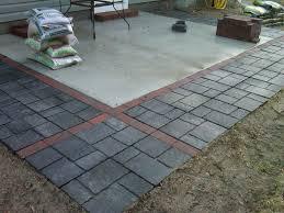 Concrete Patio Table Set by Patio Concrete Patio Blocks Pythonet Home Furniture