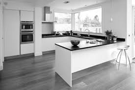 grey and white kitchen ideas amazing modern white u shaped kitchen ideas with dark granite then