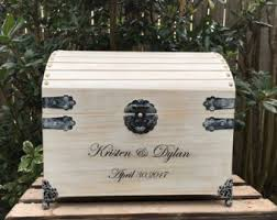 wedding wishes keepsake box chest etsy