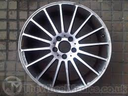 mercedes c63 amg alloys mercedes c63 amg cut finish wheel refurbishment
