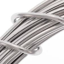 aluminum craft wire silver color 12 gauge 39 feet 11 8 meters