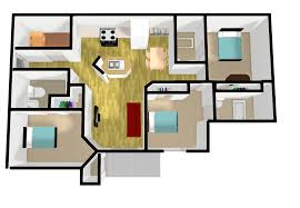 Uf Dorms Floor Plans by Unf Housing And Residence Life The Flats At Unf