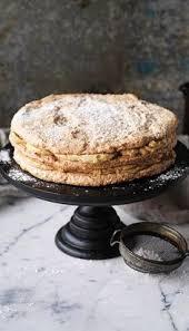 chocolate cake w hazelnut meringue chocolate hazelnut and