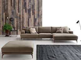 Corner Wooden Sofa Sectional Fabric Sofa Foster By Ditre Italia Design Stefano