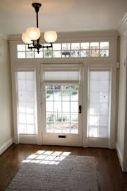 curtains for glass doors roman shade on french door with stained glass french doors