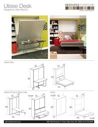 Bunk Bed Desk Combo Plans How Can I Recreate This Wall Bed With A Desk Home Improvement