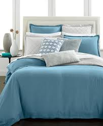 closeout hotel collection linen turquoise bedding collection