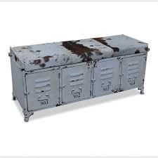 industrial storage bench stylish industrial storage bench duque inn industrial storage