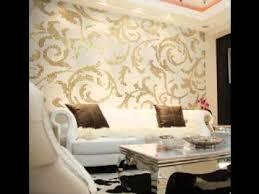 Wallpaper Design For Room - modern wallpaper design ideas for living room youtube