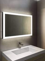 bathroom cabinets halo wide light mirror battery operated