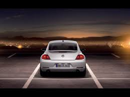 2012 Volkswagen Beetle White Rear Wallpapers 2012 Volkswagen