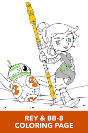 star wars art of coloring chewie and porgs disney lol