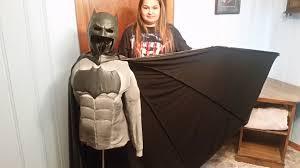 cape for halloween costume diy batman v superman costume part 8 making the cape youtube