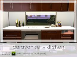 madaya74 u0027s caravan set kitchen