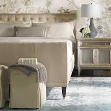 Silver Leaf Nightstand Liana Taupe Silver Leaf Nightstand