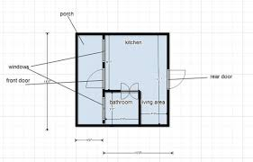 off the grid floor plans 280 sq ft solar powered off grid cabin with covered front porch