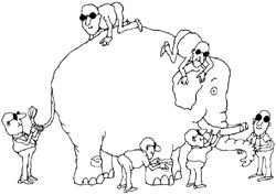 Blind Man And Elephant Blind Men Elephant