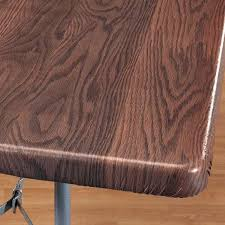 buy wood wood grain elasticized table cover wood table cover walter
