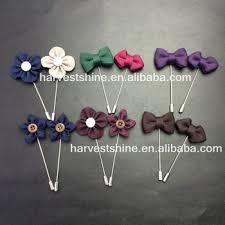 lapel flower antique flower lapel pins bow flower pins simple fancy men lapel